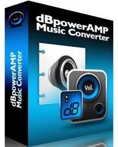 DBpoweramp Music Converter full Crack