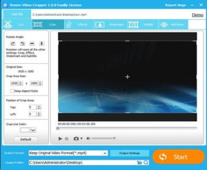 Renee Video Editor Pro Crack