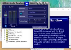 SRS Audio SandBox Crack